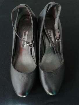 Zapatos Mujer talla 37 Bon-Bonite cuero
