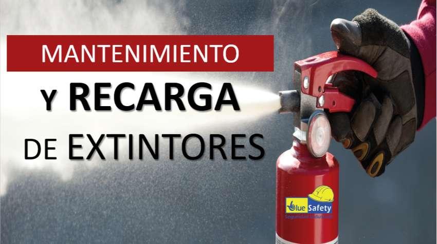 VENTA, RECARGA Y MANTENIMIENTO DE EXTINTORES 0