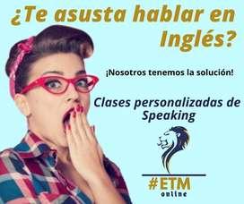 Clases online de Conversation English