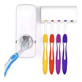Dispensador De Pasta Dental Con Porta Cepillos. Pague al recibir bgta