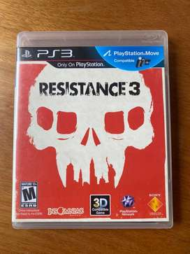 Resistance 3 para PS3