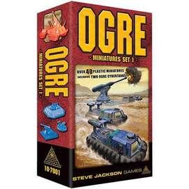 Ogre Miniaturas Juego De Mesa Guerra Tanques Siglo Xxi