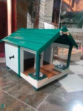 Vendo y fabrico casa para tu mascota