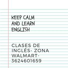 CLASES DE INGLÉS- ZONA WALMART