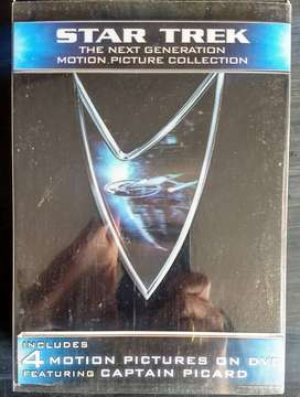 Star Trek: The Next Generation Motion Picture 5-Movie Collection (DVD) Box Set