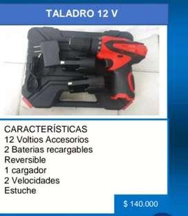 Taladro Inalámbrico 12 V