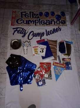Kit para decorar eventos y fiestas.