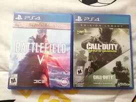 Cambio PS4 juegos