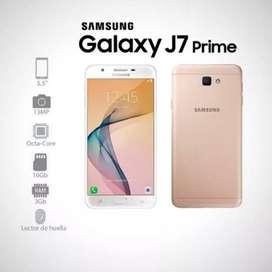 Se vende hermoso celular j7 prime color dorado 10/10