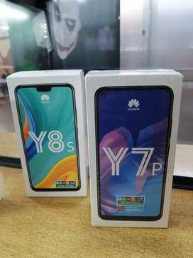 Huawei Y7p 2020 y Y8s