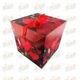 Venta de cajas de regalo