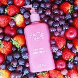 Pink fruit mascarilla para cabello graso
