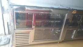 Vendo enfriador tipo barra nuevos de 1.50mts de largo acero y garantía