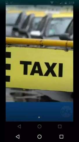 Vendo taxi transfiero licencia