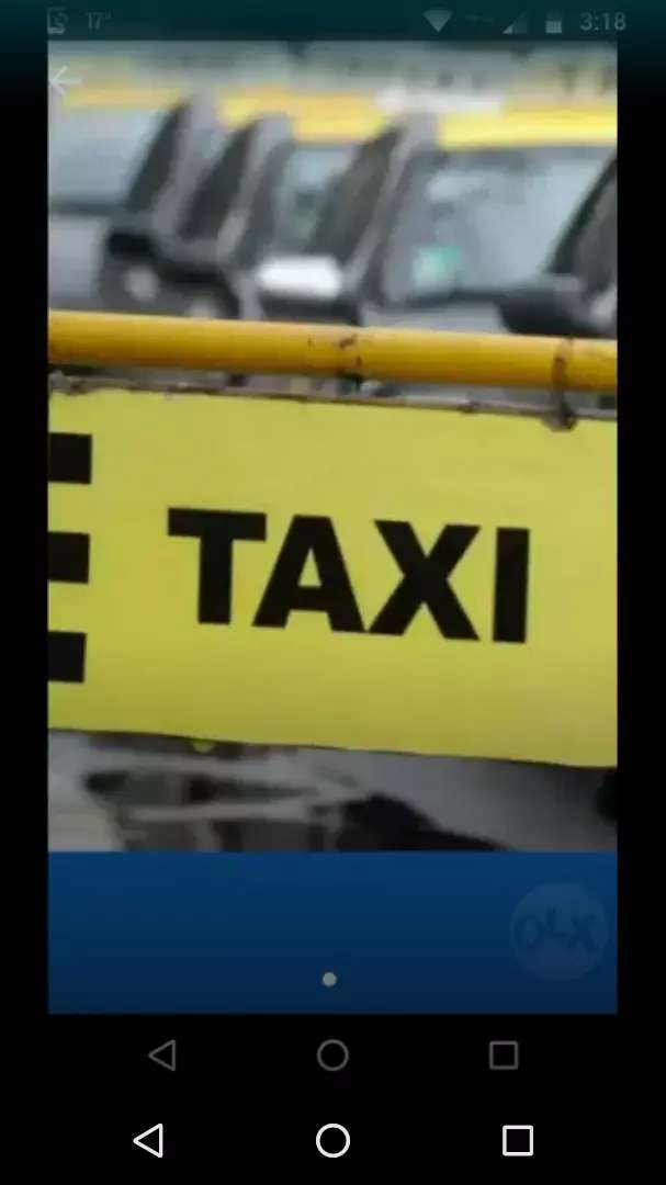 Vendo taxi transfiero licencia 0