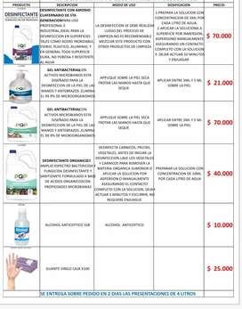 Productos de limpieza para todos los artículos de tu hogar