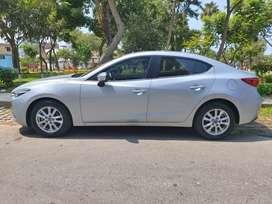 Mazda 3 año 2019, Mecanico, Motor 1600cc , Solo 13000 km . Practicamente Nuevo!