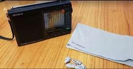 Radio Sony Portátil Am/fm Icf-7601 12 Bandas - Inmaculada