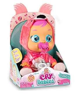Muñeca Cry Babies fancy nueva original