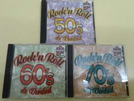 ROCK N ROLL DE VERDAD 50 60 70 3 CD