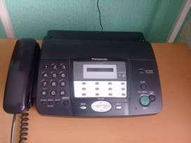 Teléfono Fax Panasonic Kx-ft901