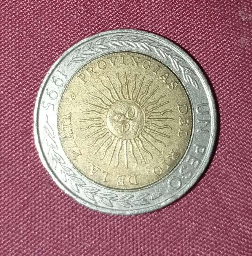 Vendo moneda con error de impresión de 1995