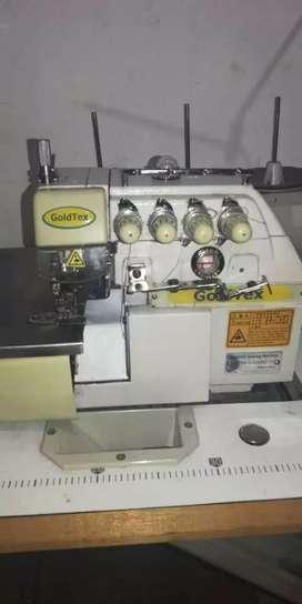 Remalladora Industrial 5 Hilos GOLDEX