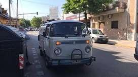 Combi Volkswagen 81 Brasil Funcionando Blanca