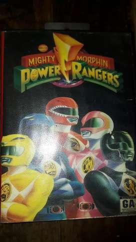 Cartucho de sega POWER RANGERS MIGHTY MORPHIN original
