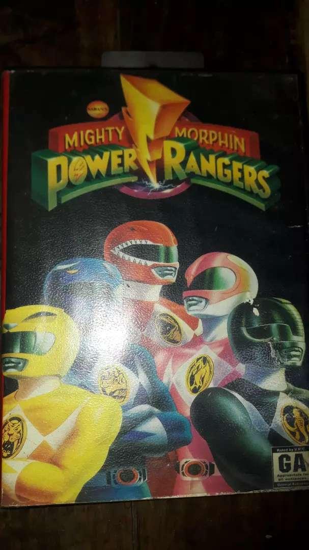 Cartucho de sega POWER RANGERS MIGHTY MORPHIN original 0