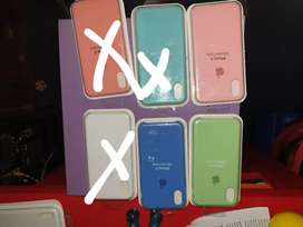 Silicone case. Fundas para iphone X y Xs. 7 y 8