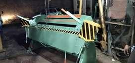 Dobladora de tol de 2.45 mtr cap de 2 m.m con transporte y garantia.