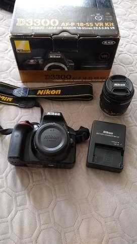 Camara Profesional Nikon D3300