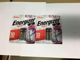 Baterias AAA y AA