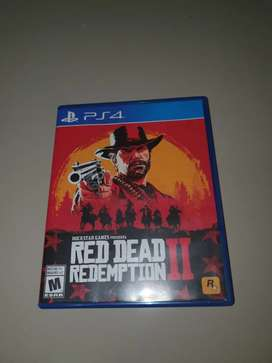 Vendo o cambio red dead redemption 2 ps4