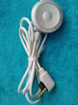 Cable control remoto de audifonos para psp