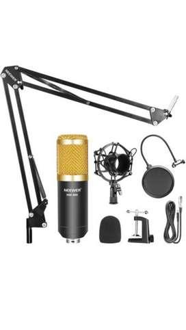 Micrófono condensador profesional Neewer y accesorios