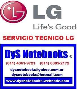 LG SERVICIO TECNICO NOTEBOOK NETBOOK LAPTOP
