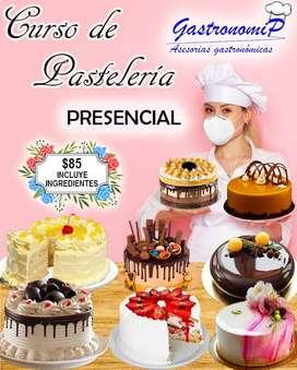 Curso de Pastelería Presencial