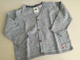 Sweater Pullover Saquito Zara 18 / 24 Meses Para Varón