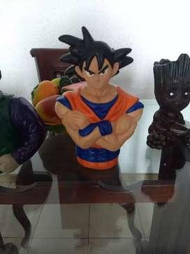 Goku en ceramica alcancia