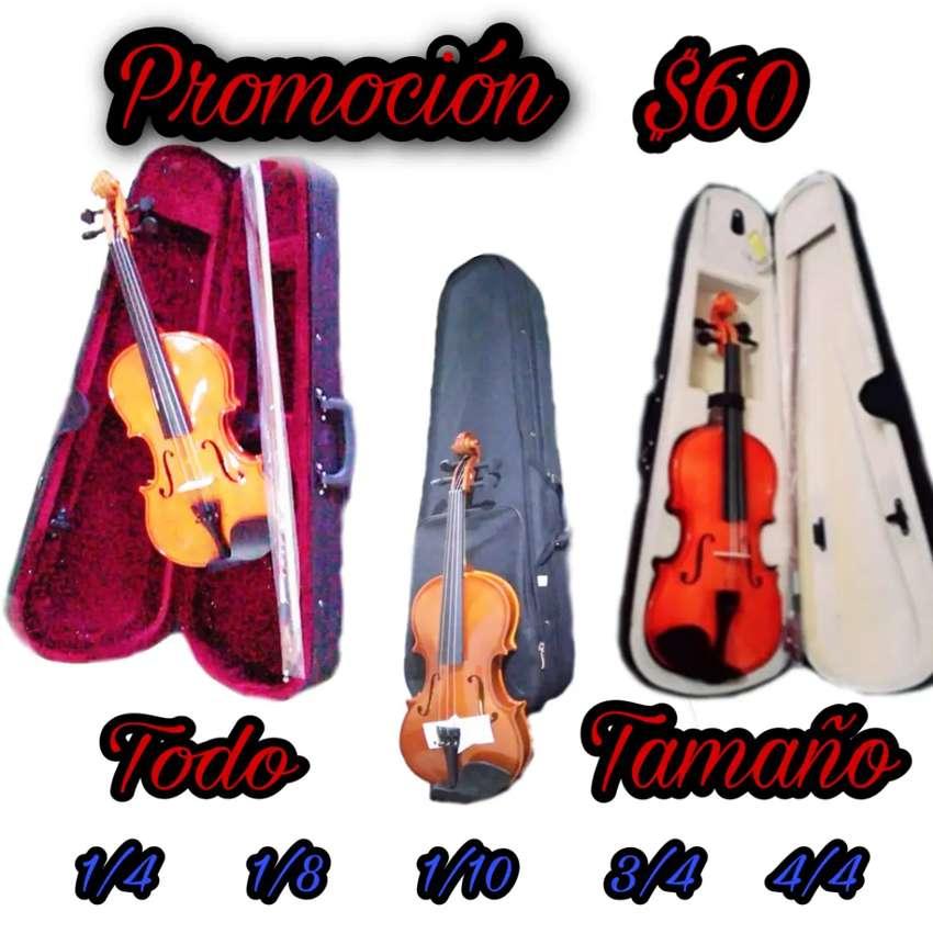 Violines de promoción nuevo con garantía para toda las edades precios de remate