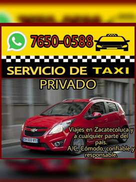 TAXI PRIVADO ZACATECOLUCA