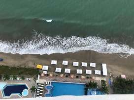 Hermoso departamento frente al mar, con una increíble vista. Hasta 7 personas.