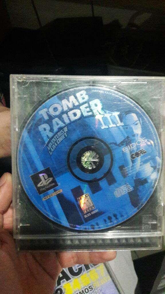 Tomb Raider 3 Playstation 1 0