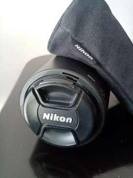 Lente Nikon 70 - 300 mm VR