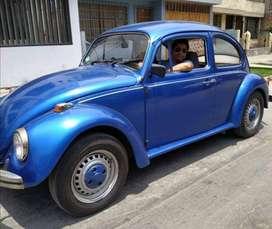 Vocho 1982 Brasil escarabajo dueño único
