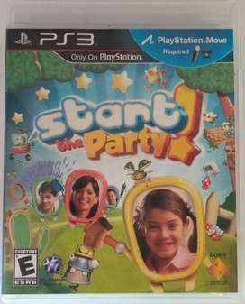 Start The Party Ps3 Fisico