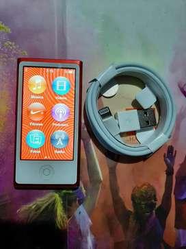 Ipod nano 7ma generación rojo