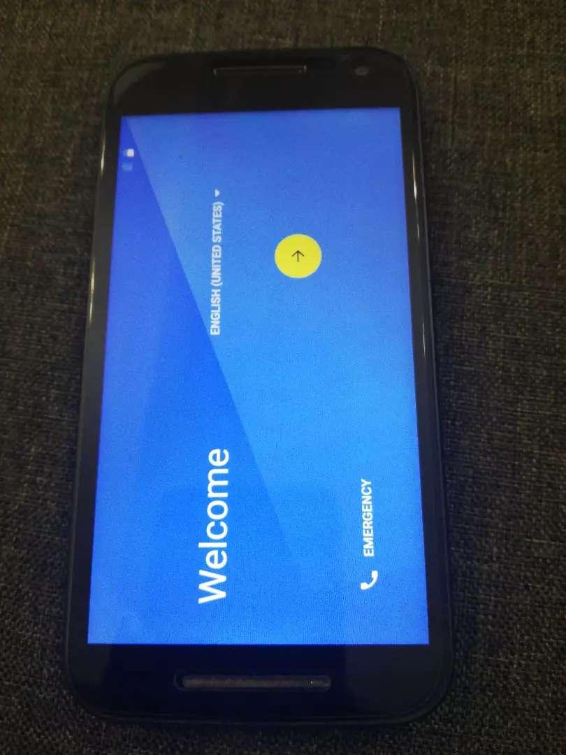 Celular MotoG 3 generación 0